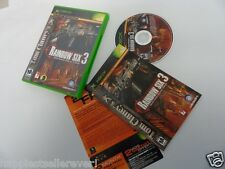 Rainbow Six 3 Complete Original XBOX 1 Video Game System DISK FLAWLESS