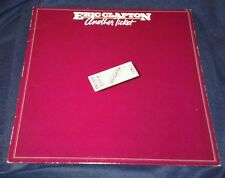 ERIC CLAPTON, ANOTHER TICKET, 1981 VINYL LP (VG play tested) cover EX