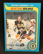 1979-80 OPC O-PEE-CHEE HOCKEY WAYNE CASHMAN CARD #79 BOSTON BRUINS NMT+
