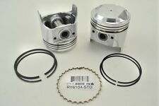 Toyota Corolla 2TC 1600cc 78-79 8.5-1 Compression Standard 4-Pistons Set w/Rings