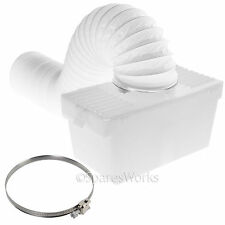 1 Metre Wall Mountable Condenser Box with Hose & Clip for LOGIK Tumble Dryer