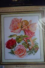 Counted Cross Stitch   « Fairy rose garden »