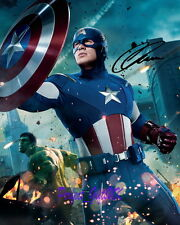 Chris Evans Captain America Avengers SIGNED AUTOGRAPHED 10X8 REPRINT PHOTO