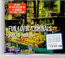 (FP113) Fun Lovin' Criminals, Korean Bodega - 1999 DJ CD