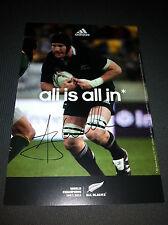 Autographe De Ali Williams - All Blacks - Signed in person