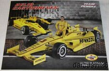 2014 Helio Castroneves Pennzoil Chevy Dallara Indy 500 Indy Car postcard