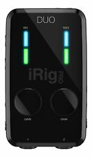 IK Multimedia*iRig Pro DUO*2-Channel Audio-MIDI Interface  iOS+Android FREE-2DAY