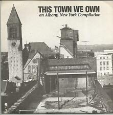 THIS TOWN WE OWN An Albany New York compilation US EP RAKE 1991 US PUNK HARCORE