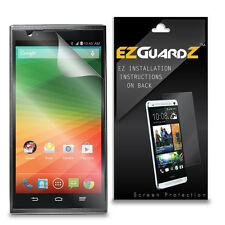 1X EZguardz LCD Screen Protector Shield HD 1X For ZTE ZMax Z970 (Ultra Clear)