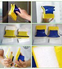 Limpiador Cristales útil magnético de doble cara cepillo de limpieza Almohadilla Coche Hogar Ventana Nuevo