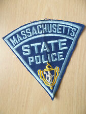 Patches: MASSACHUSETTS STATE POLICE PATCH (NEW,apx.5x5 inch)