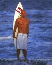 Kelly Slater 8x10 Photo Picture Pro Surfer w/ Surf Board ASP World Tour Champion