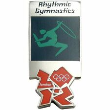 2012 London Olympics official pictogram RHYTHMIC GYMNASTICS PIN badge-mint MIP