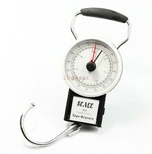 35kg Travel Luggage Fishing Portable Scale with 1m measure tape