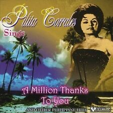 Pilita Corrales-Pilita sings `A Million Thanks to you`  CD NEW