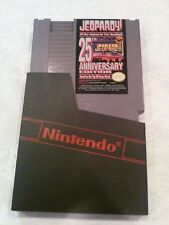 JEOPARDY 25th ANNIVERSARY NINTENDO GAME SYSTEM VIDEO GAME NES - TESTED/WORKING