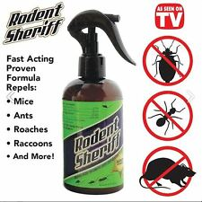 Pest Control Spray Products Rodent Sheriff As Seen on TV Mice - Easily Repeller