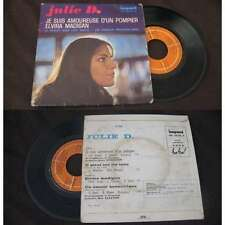 JULIE DASSIN - Je Suis Amoureuse D'Un Pompier Rare French EP Pop 1968