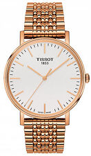 Tissot T-Classic Rose Gold Everytime Silver Dial Men's Watch T1094103303100