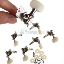 6 Piece Open-Gear Guitar String Tuning Pegs Keys Tuners Machine Heads Alignment