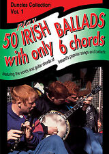 Irish Ballads With Only Six Chords Learn to Play Celtic Guitar Music Book