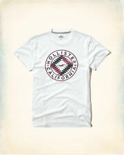 HOLLISTER Printed Logo Graphic T-Shirt Med / Large Avlbl *Brand New w/ Tag* Tee