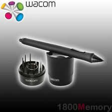 Wacom Intuos Pro 5 4 Cintiq Grip Pen with Stand 3 Standard 3 Stroke Nibs KP-501E