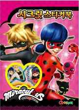 20 sheets DIY Miraculous Ladybug Cartoon Secret Sticker Book For Kids Toy Gift