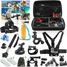EEEKit Outdoor Accessory Kit for GoPro HD Hero 5 4 Black Silver Session 3+ 2 LCD