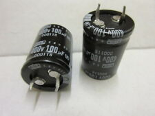 100UF 400v Capacitor Snap-in Electrolytic SMH 22x30 5X PER SALE NIPPON CHEMICON.