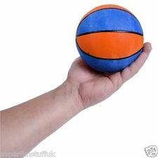MINI ORANGE & BLUE BASKETBALL INDOOR OUTDOOR SPORTS - KIDS TOY SMALL BALL GIFT