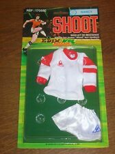 "RARE MAILLOT DE FOOT ""AS NANCY"" POUR JEU ""SHOOT"" DE MECCANO / NEUF BLISTER"
