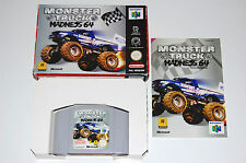 Nintendo N64 Monster Truck Madness - PAL - Box Complete! Awesome Game!