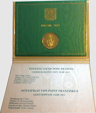 Vatican 2013 - 2 Euro Comm - 28th World Youth Day Rio de JaneiroJuly 2013 (UNC)