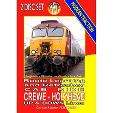 CREWE TO HOLYHEAD CAB RIDE - 2 DVDset NEW Drivers Eye View DVD TRAINS