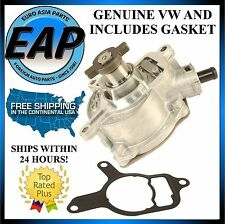 For Golf Jetta Beetle Rabbit 2.5L GENUINE VW Power Brake Booster Vacuum Pump NEW