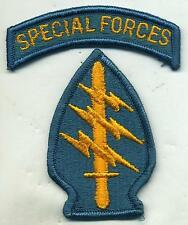 Vintage US Army Special Forces Full Color Patch W/Special Forces Tab