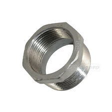 """1 1/2"""" Male x 1 1/4"""" female Stainless Steel thread Reducer Bushing Pipe Fitting"""