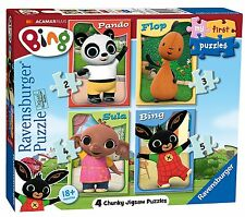 Ravensburger My First Puzzle, Bing Bunny (2 3 4 & 5) Jigsaw