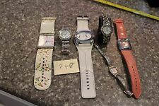 Lot (6) Women's Watches, Betsey Johnson, A.Klein , Activa Swiss and more F48