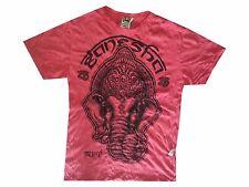 zm Yoga Men T Shirt Buddha tattoo Lotus India OM Ganesh Hobo Boho  XL RARE Sure