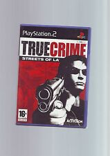 True CRIME STREETS OF LA-ps2 Gioco/60gb ps3 Compatibile-Veloce Post-COMPLETO