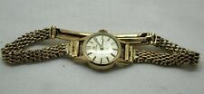 1960's Vintage Ladies 9ct Gold Omega Bracelet Watch