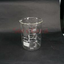 2000ml Low Form Beaker Chemistry Laboratory Borosilicate Glass Beaker Thickened