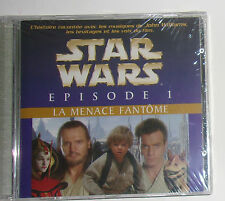 CD STAR WARS EPISODE 1 // LA MENACE FANTOME // SOUS BLISTER