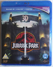 JURASSIC PARK Brand New 3D BLU-RAY (and 2D) Region-Free UK Import Ships From USA