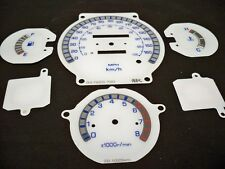 For Nissan 720 84-86 Pickup Glow Through White Face Gauges Kilometers per hour