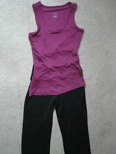 NEW JOHN LEWIS WOMENS JACKET/TOP/TROUSER SUIT FOR FITNESS/YOGA/PILATES SIZE 8