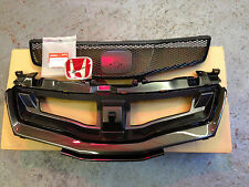 ORIGINALE HONDA CIVIC TYPE R MASCHERINA COMPLETA & BADGE 2007-2011