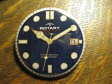 Rotary Aquaspeed Switzerland Wristwatch Watch Advertisement Logo Pocket Mirror